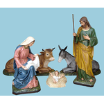 Handcrafted Nativity Set